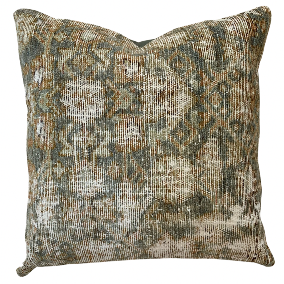 24x24 - Vintage Pillow Cover 34