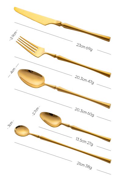 Arya Gold Flatware
