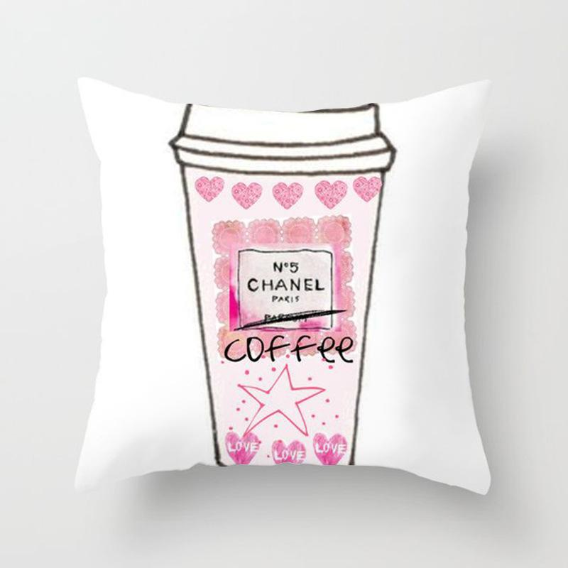 Chanel Pink Coffee Wallencia