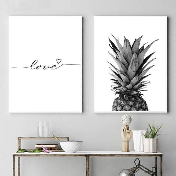 Pineapple - Love - Wallencia Home Decor