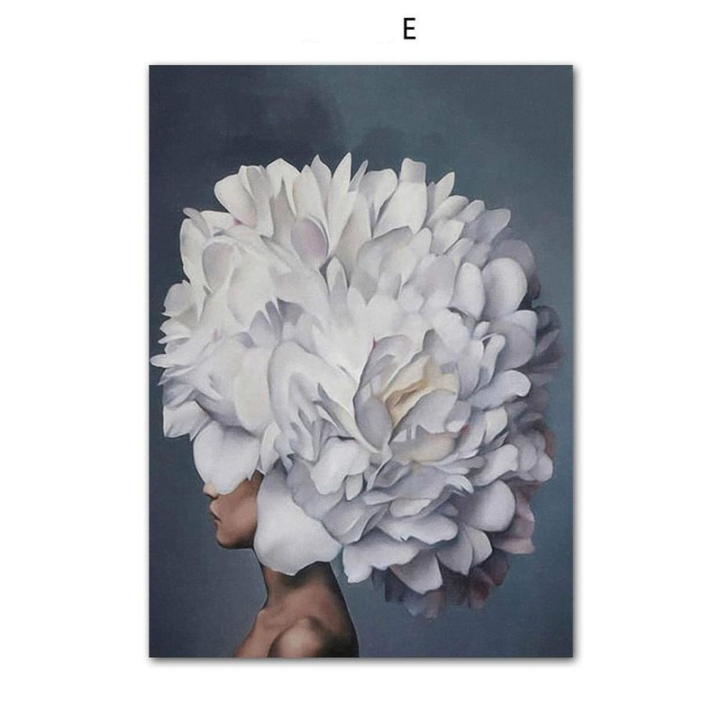 All Flower Everything Wallencia Canvas E 12X16 Inch 30x40cm