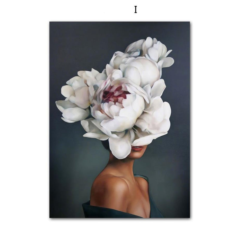 All Flower Everything Wallencia Canvas I 12X16 Inch 30x40cm
