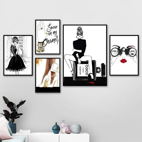 Swear on my Fashion - Wallencia Home Decor