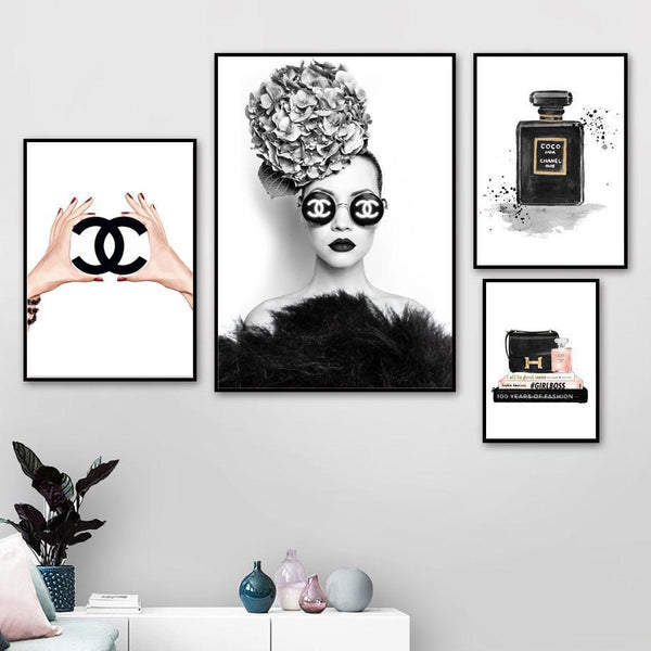 Chanel Fashion - Wallencia Home Decor