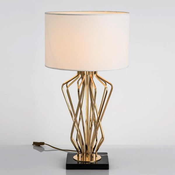 Meduza Table Lamp White - Wallencia Home Decor