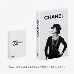 Decorative Books - Fashion Collection II Wallencia Chanel