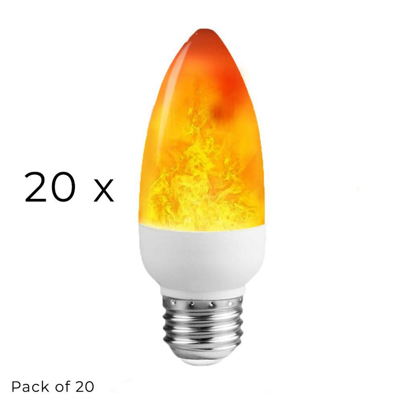 Firelight - LED Flame Light Bulb - Wallencia Home Decor