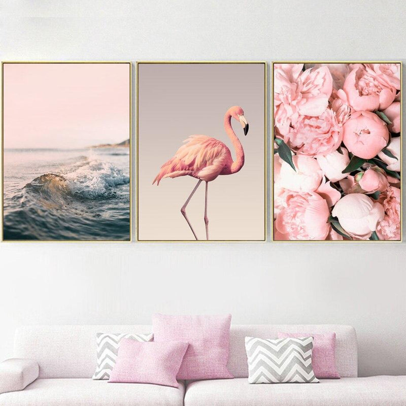Pink Flamingo Style - Wallencia Home Decor