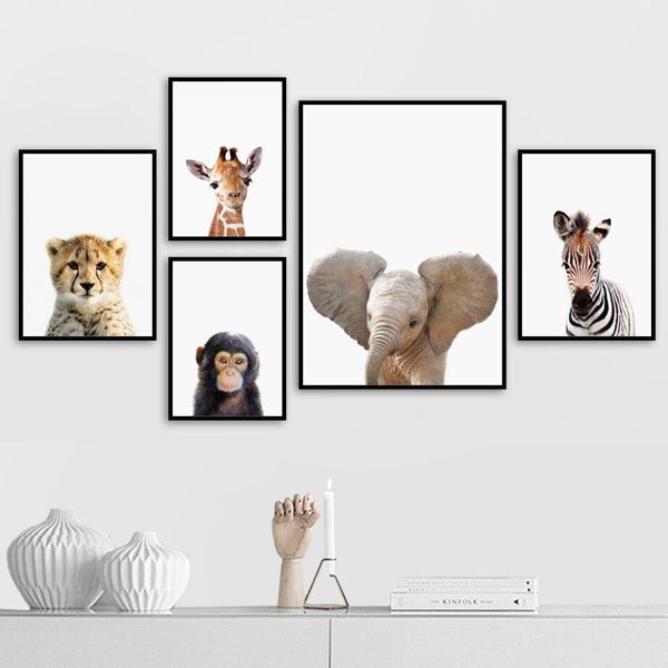 Baby Animals Safari - Wallencia Home Decor