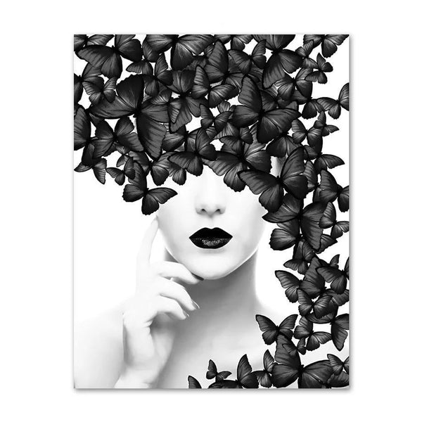 Black Butterfly - Wallencia Home Decor