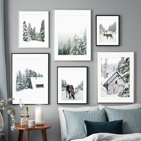Covered by Snow - Wallencia Home Decor