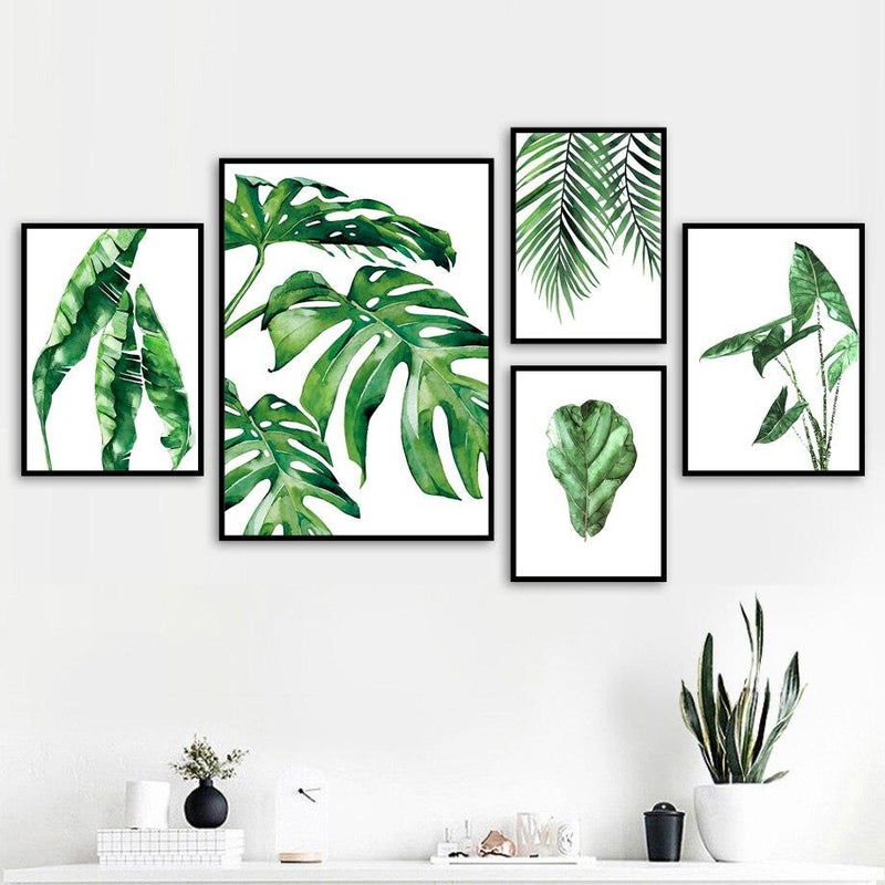 Green Leaves Collection - Wallencia Home Decor