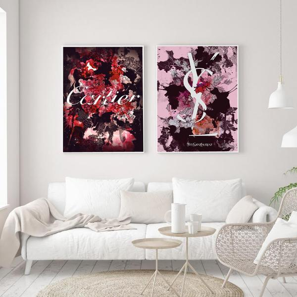 Cartier-Bloom - Wallencia Home Decor
