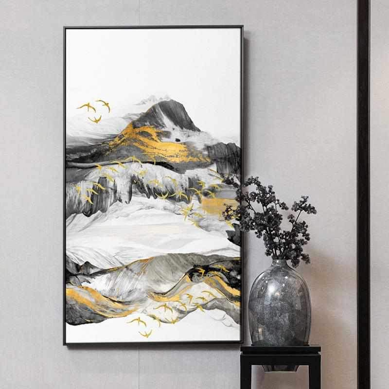 Golden landscape - Wallencia Home Decor