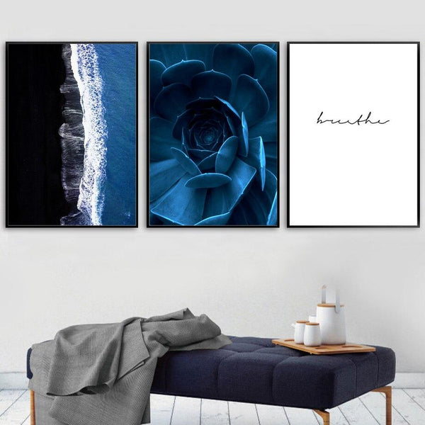 Deep Blue - Wallencia Home Decor