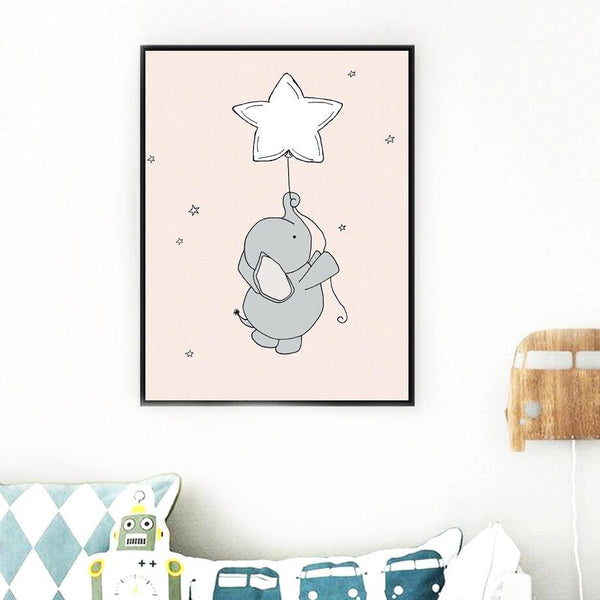 Baby Elephants - Wallencia Home Decor