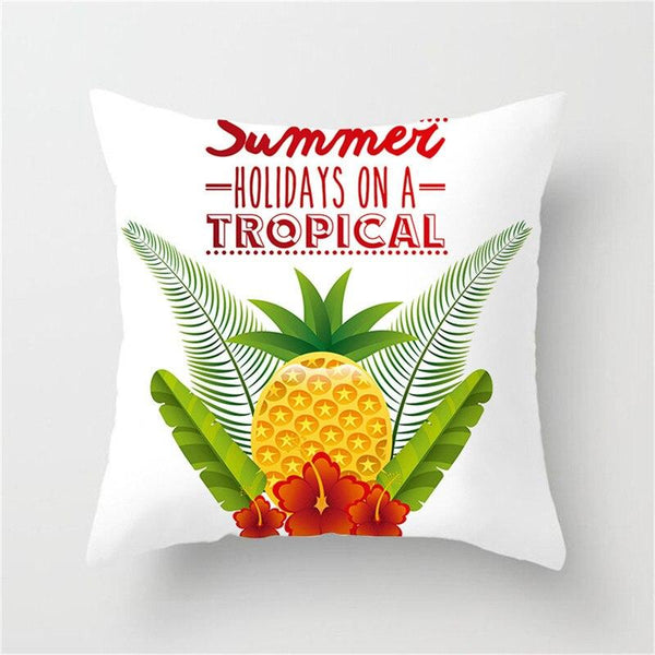 Holiday On A Tropical - Pillow Case - Wallencia Home Decor