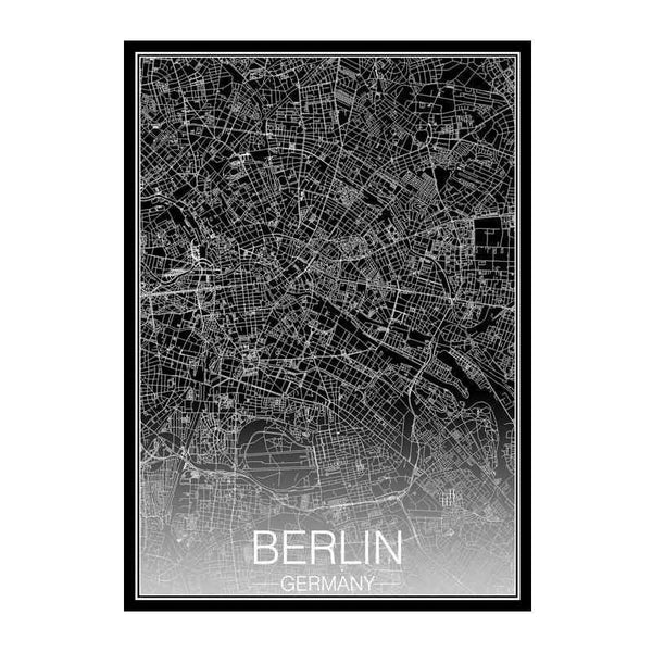 Berlin by night - Wallencia Home Decor