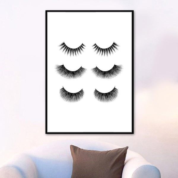 Eyelashes & Nails - Wallencia Home Decor