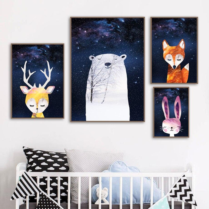 Starry Night - Wallencia Home Decor