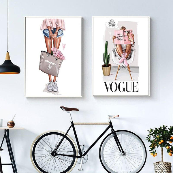 Vogue Fashion - Wallencia Home Decor