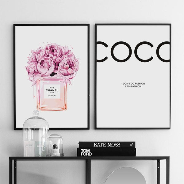 COCO - I AM FASHION - Wallencia Home Decor