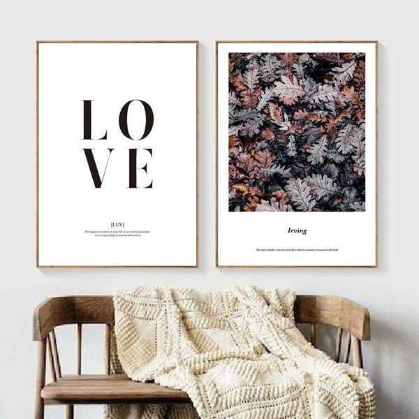 Autumn Leaves - Wallencia Home Decor