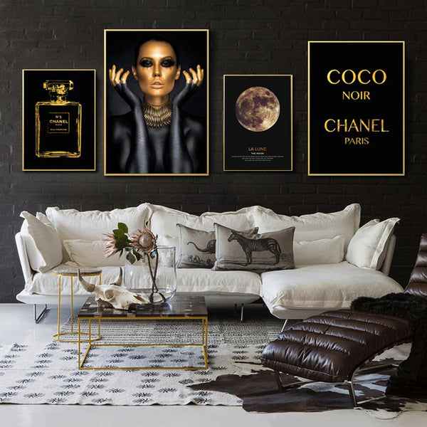 Coco Noir - Wallencia Home Decor
