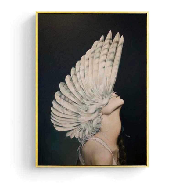 Feather Mohican - Wallencia Home Decor