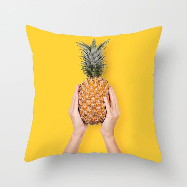 Holding Pineapple - Pillow Case - Wallencia Home Decor