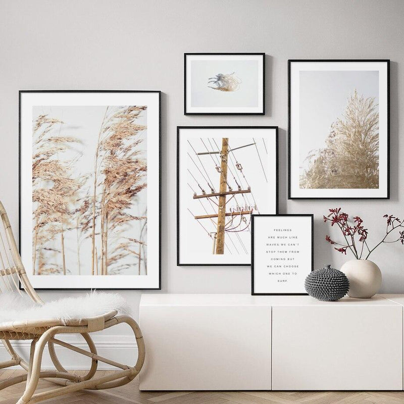 Overhead Wires - Wallencia Home Decor