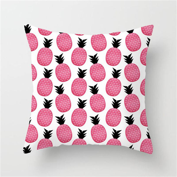 Pink Pineapple - Pillow Case - Wallencia Home Decor
