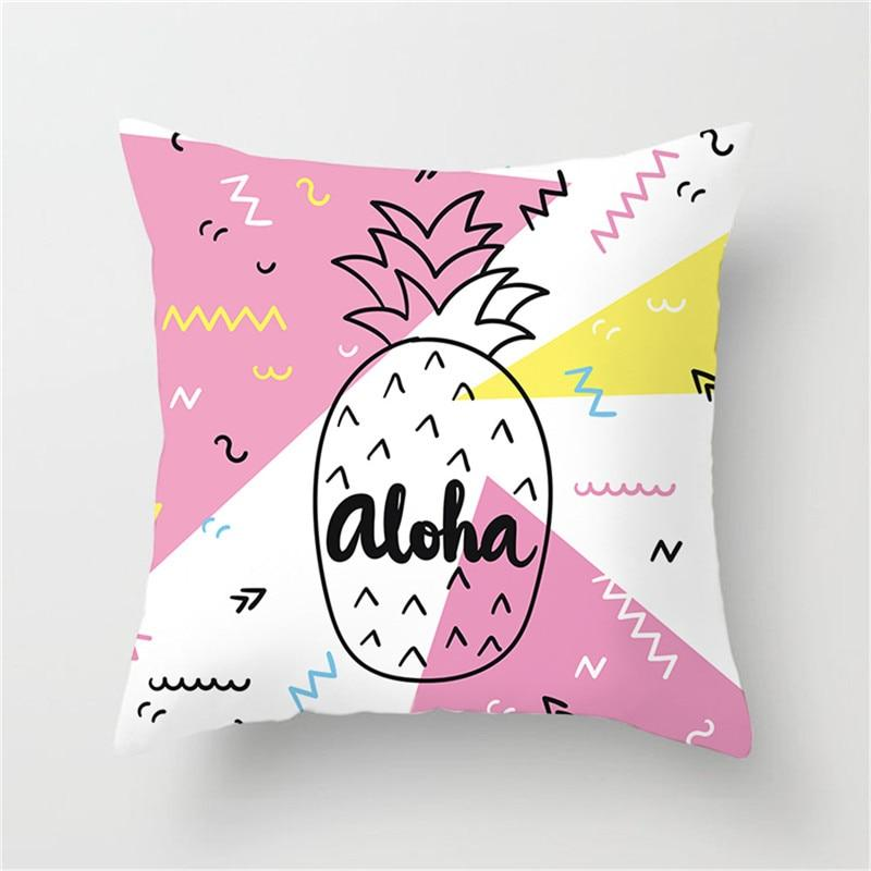 Aloha Pineapple - Pillow Case - Wallencia Home Decor