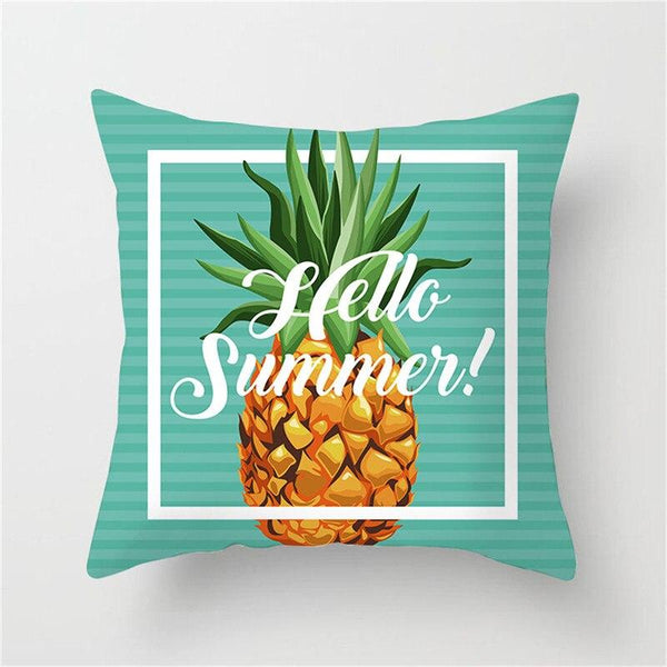 Hello Summer Blue - Pillow Case - Wallencia Home Decor