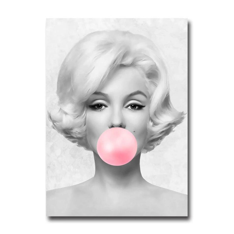 Hepburn and Monroe Bubble - Wallencia Home Decor