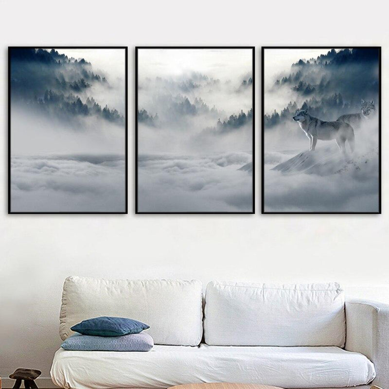Foggy Sunset - Wallencia Home Decor