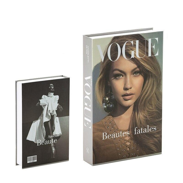 Decorative Storage Book - Vogue Wallencia