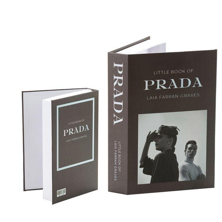 Decorative Storage Book - Prada Wallencia