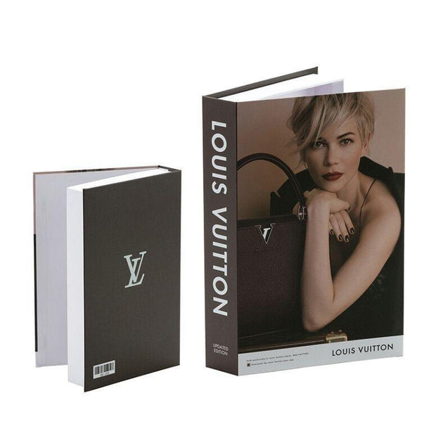 Decorative Storage Book - Louis Vuitton Wallencia