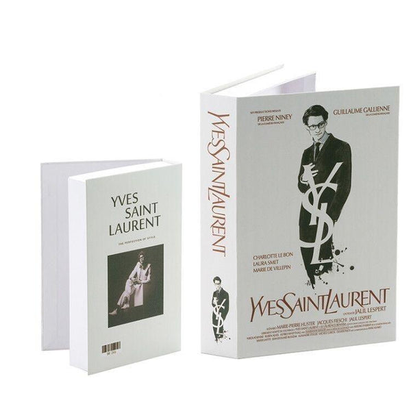 Decorative Storage Book - Yves Saint Laurent Wallencia