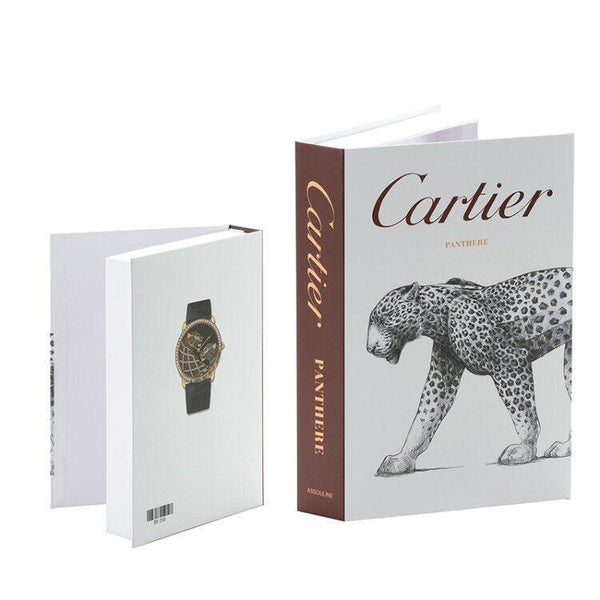 Decorative Storage Book - Cartier Wallencia