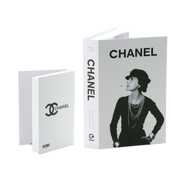 Decorative Storage Book - Chanel Wallencia