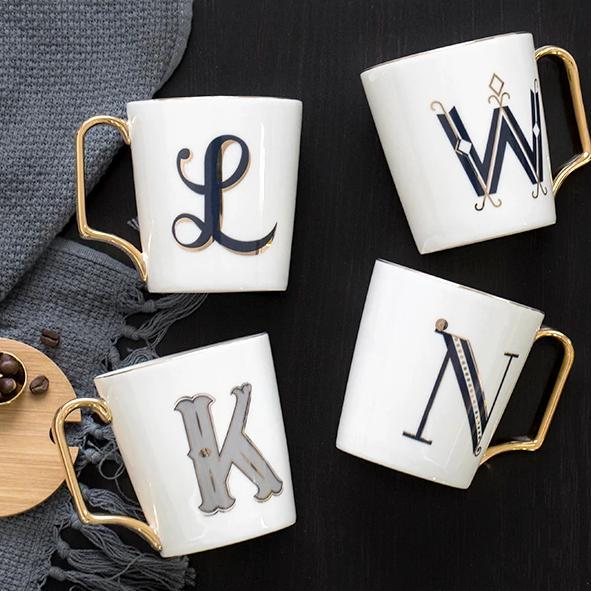Letters Coffee Mug - Wallencia Home Decor