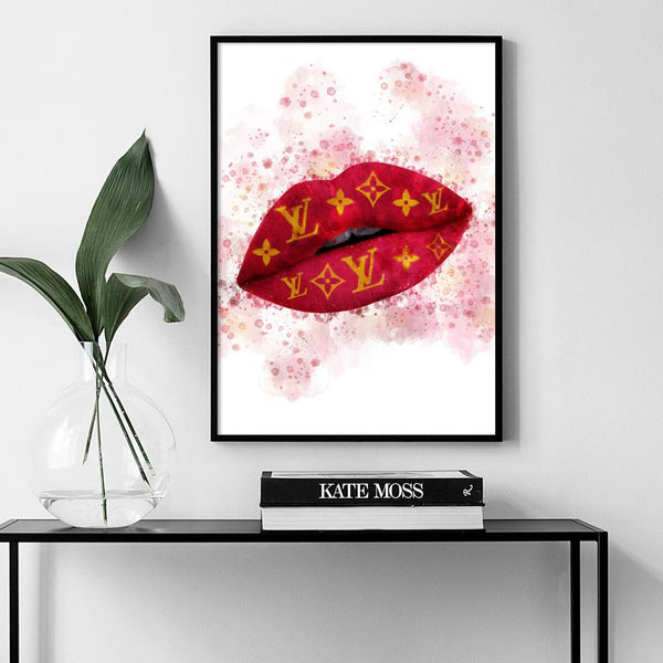 Louis Vuitton Lips Splash Wallencia