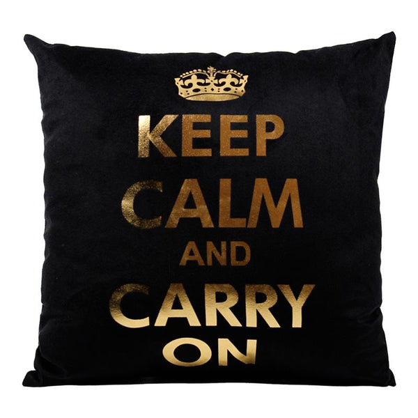 Keep Calm - Pillow Case - Wallencia Home Decor