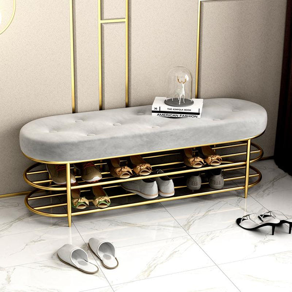 Ezra - Shoe Bench - Wallencia Home Decor