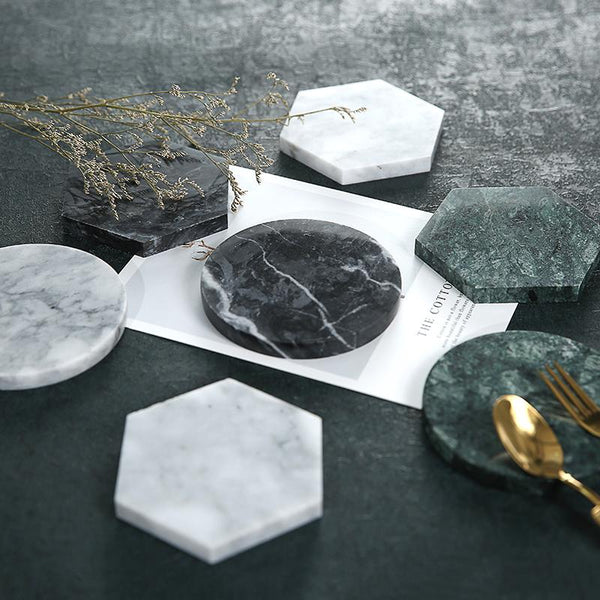 Marble Coaster - Wallencia Home Decor