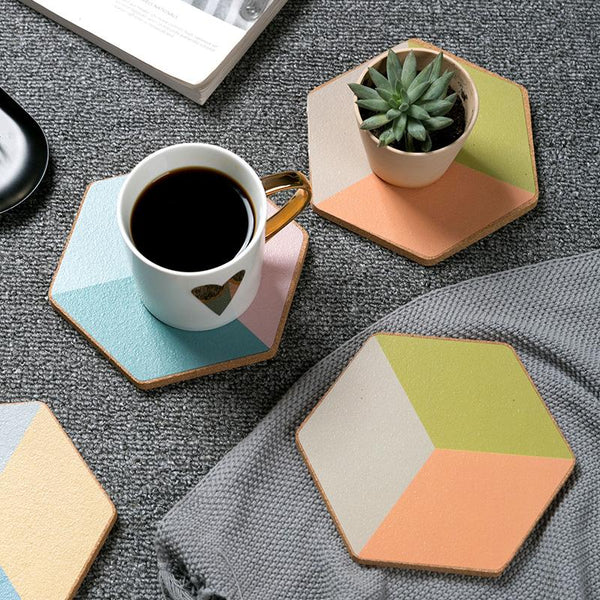 Geometric Coaster - Wallencia Home Decor