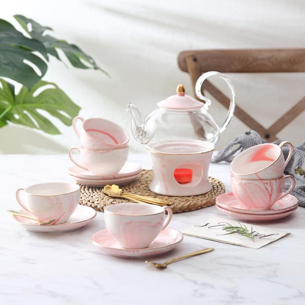Pink Dream Tea Set - Wallencia Home Decor