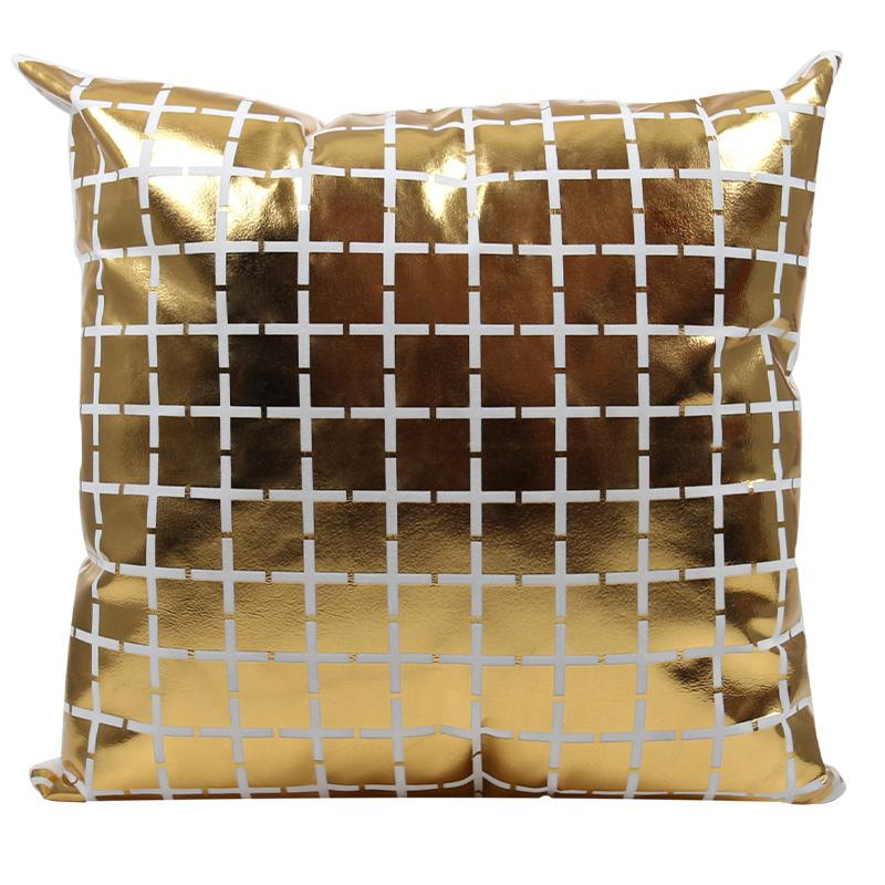Golden Square - Pillow Case - Wallencia Home Decor